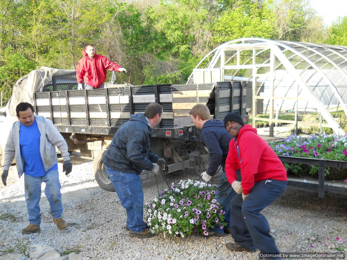 ... Kansas City Home And Garden | Loading Flowers ...
