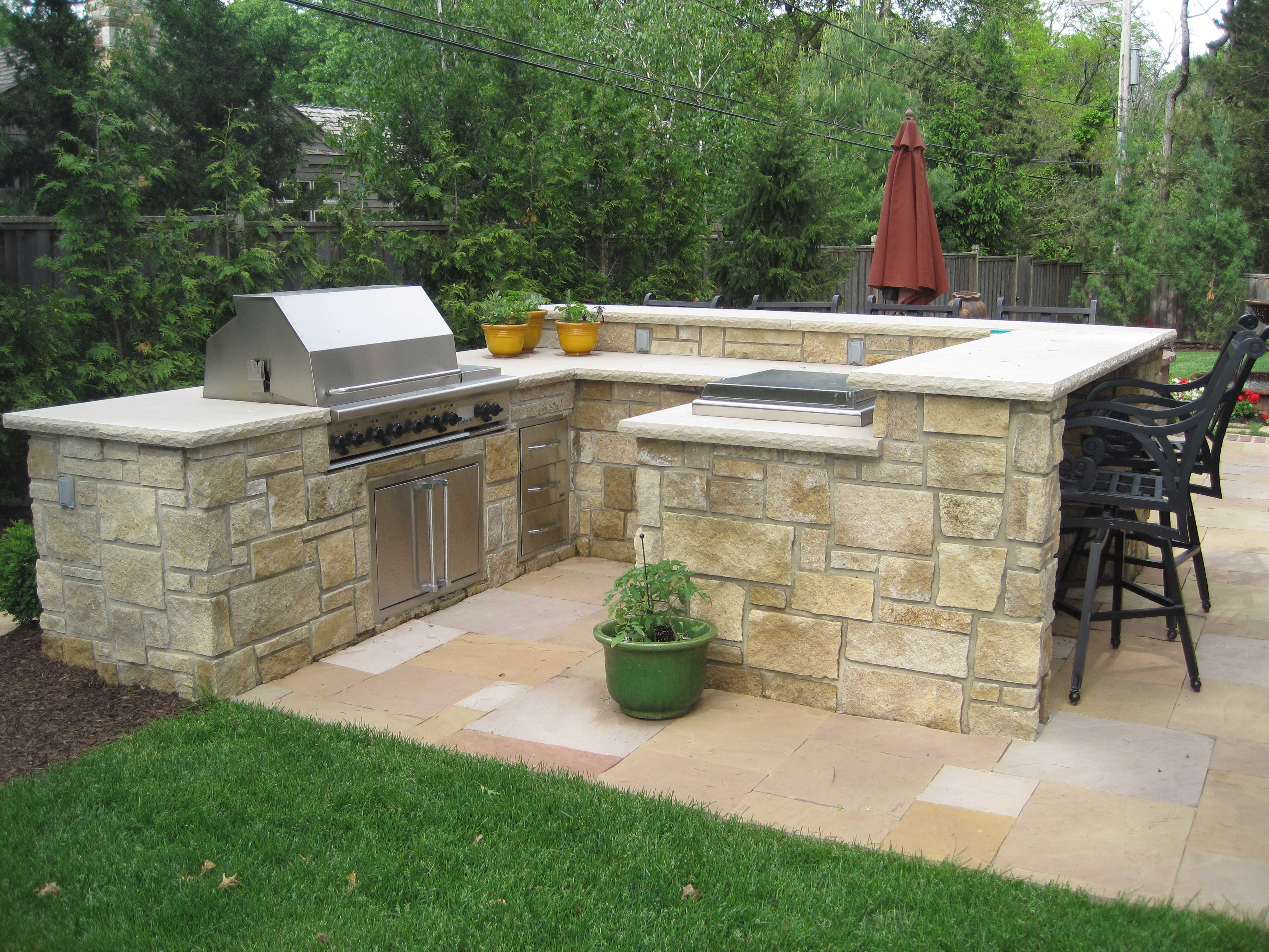 Customized Outdoor Kitchens Rosehill Gardens Kansas City