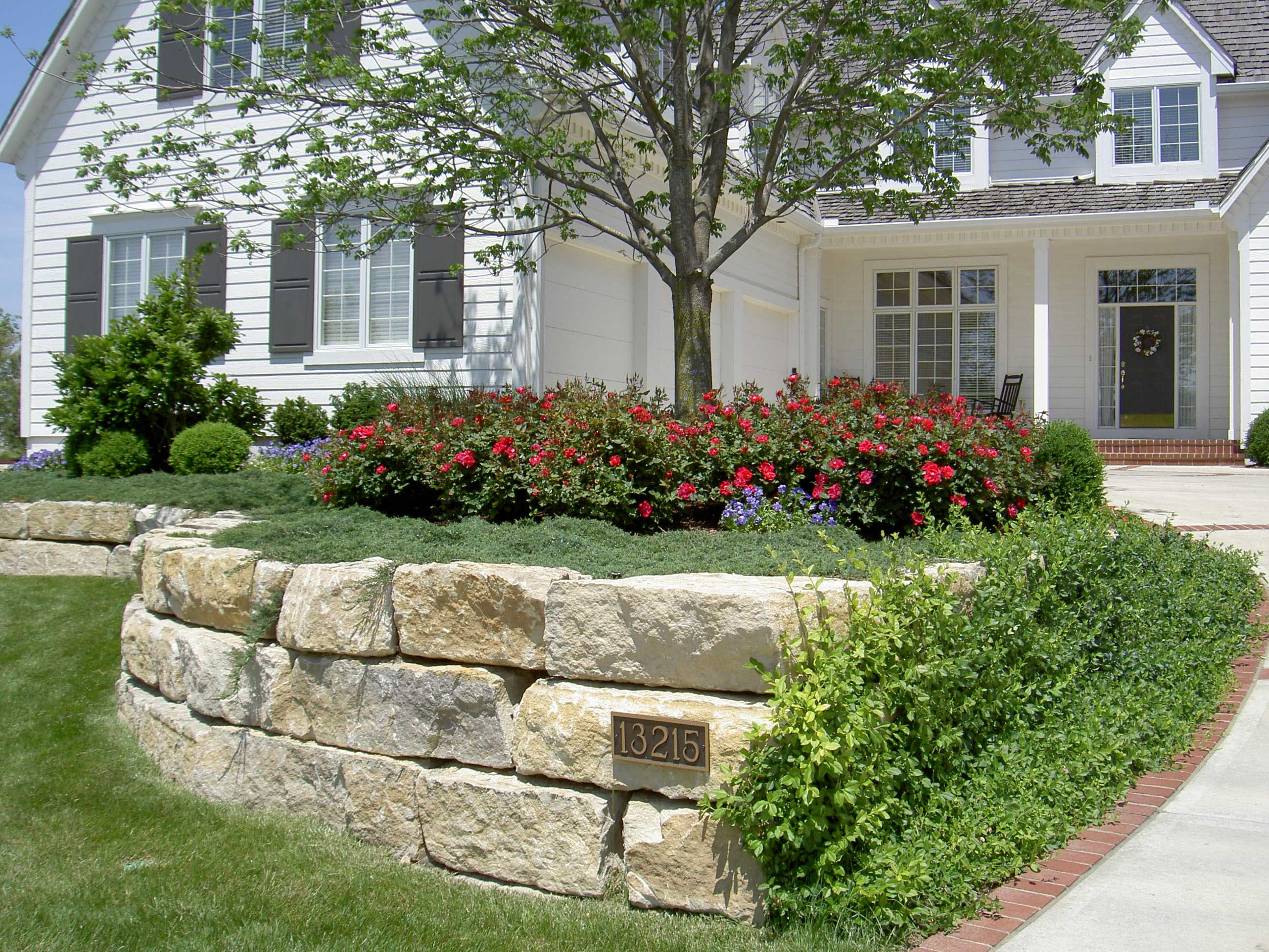 Landscape & Retaining Wall Design & Installation ... on Backyard Wall Design id=98337