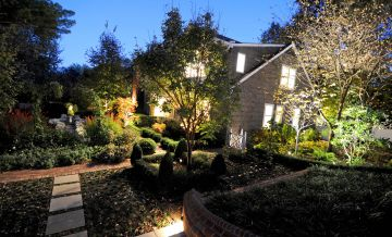 Light Up Your Backyard with Outdoor Lighting Ideas